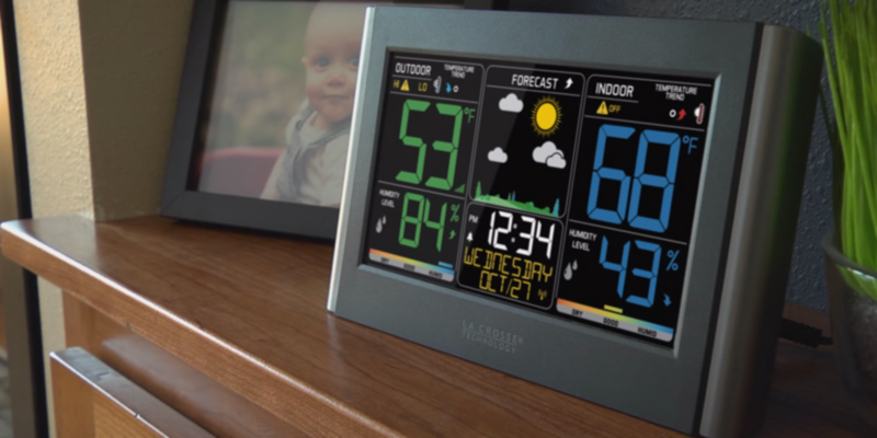 Review of La Cross Technology C85845 Color Wireless Forecast Station