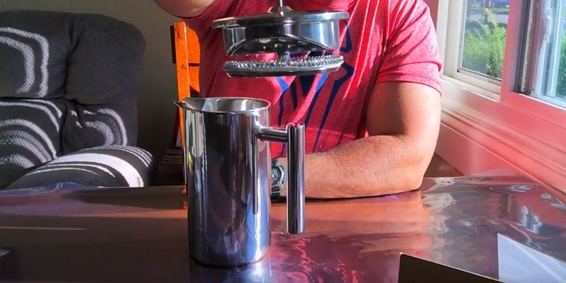 Detailed review of Secura SFP-34DS Stainless Steel French Press Coffee Maker