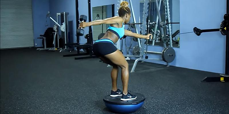 Detailed review of Bosu Balance Trainer Half-Ball