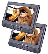 Proscan PDVD1037 Dual Screen Car DVD Player