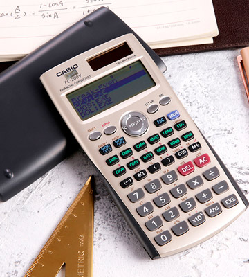 Review of Casio FC-200V Financial Calculator