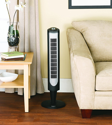 Review of Holmes 36-Inch Oscillating Tower Fan with Remote Control