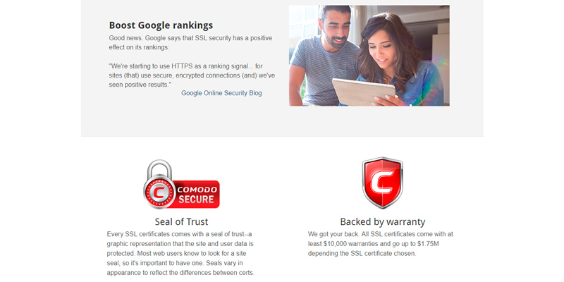 Detailed review of Domain.com SSL Certificates