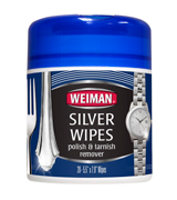 Weiman Silver Wipes for Cleaning and Polishing Silver Jewelry