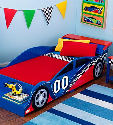Review of KidKraft Race Car Toddler Bed