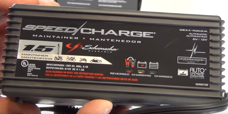Review of Schumacher SEM-1562A-CA 1.5 Amp Speed Charge Battery Maintainer