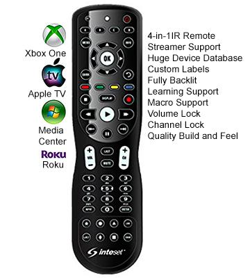 Review of Inteset Technologies INT-422 Universal 4-in-1 Learning Remote