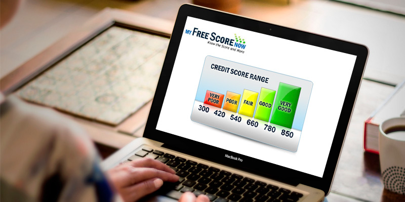 My Free Score Now Credit Report in the use