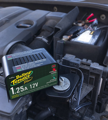 Review of Battery Tender Plus 021-0128 1.25 Amp Battery Trickle Charger