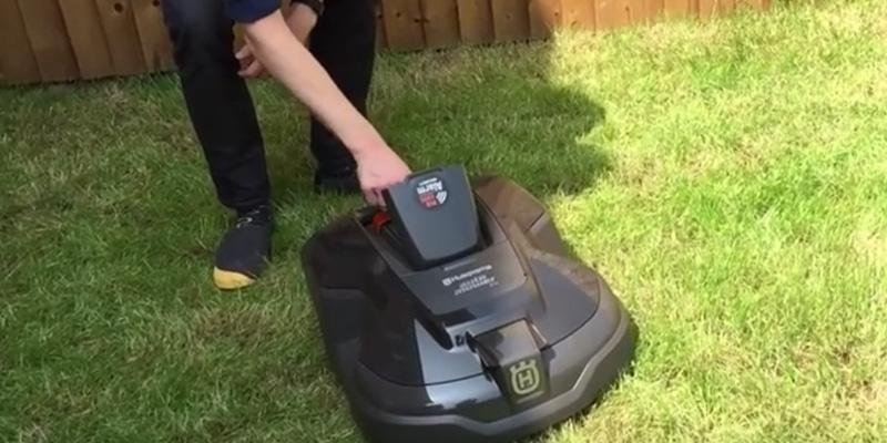 Husqvarna Automower 315 Robotic Lawn Mower in the use