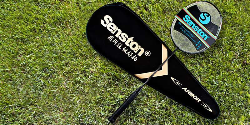 Senston N80 Carbon Fiber High-grade Badminton Racquet in the use