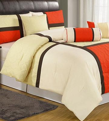 Review of Chezmoi Collection Bed in a Bag Comforter Set