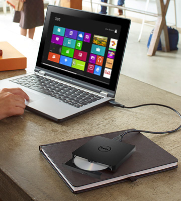 Review of Dell DW316 External USB Slim DVD R/W Optical Drive