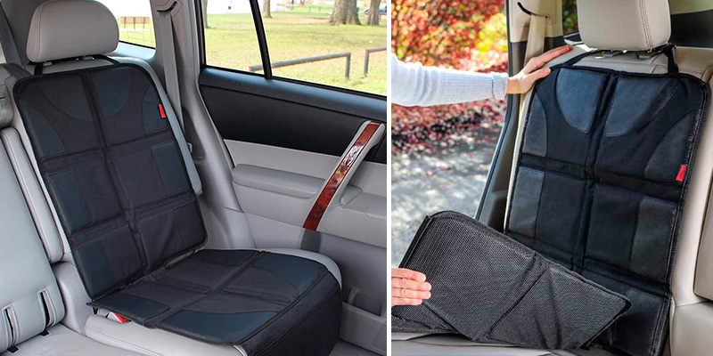 Review of Lusso Gear Car Seat Protector with Thickest Padding