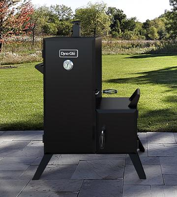 Review of Dyna-Glo DGO1176BDC-D Charcoal Offset Smoker