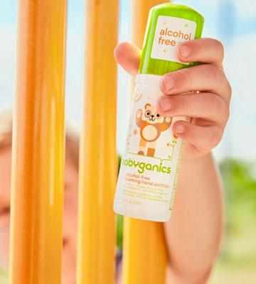 Review of Babyganics Alcohol-Free Foaming On-The-Go 50 ml