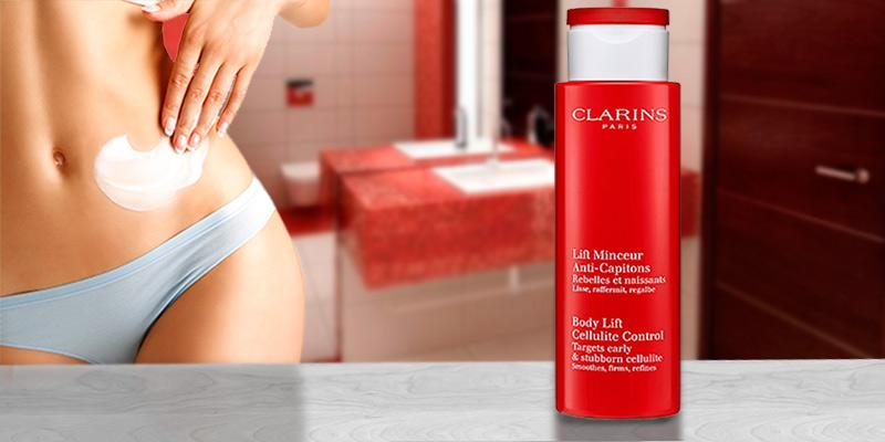 Clarins Body Lift Cellulite Control in the use