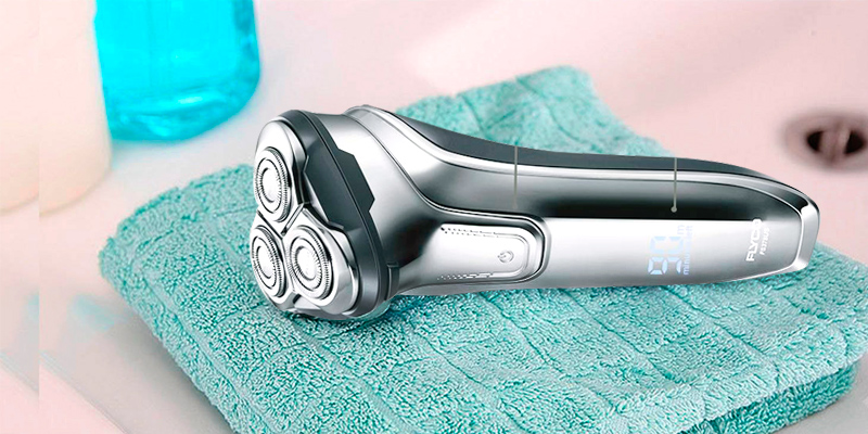 Review of Flyco Electric Razor Rotary Shaver for Men 3D Rechargeable Cordless Shavers Mens
