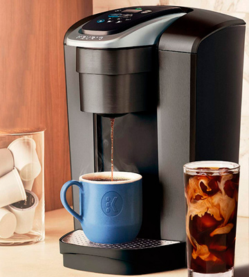 Review of Keurig K-Elite Single Serve K-Cup Pod Coffee Maker