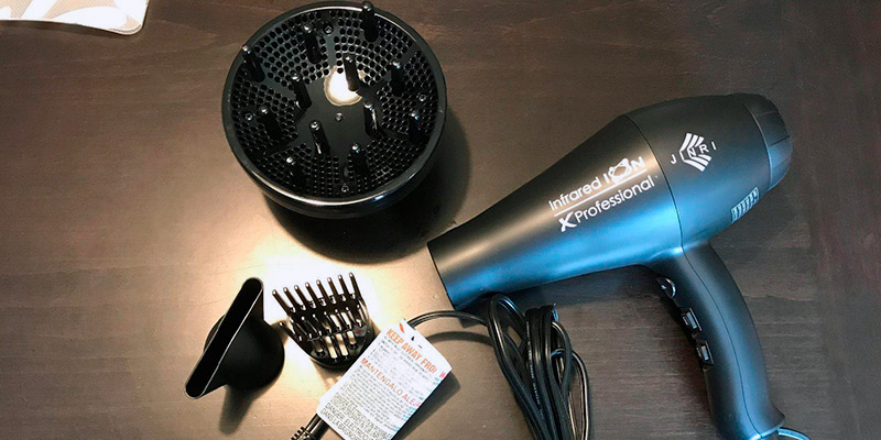Review of JINRI JRI-104A Infrared Ion Professional Salon Hair Dryer