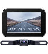 eRapta E5 Wireless Backup Camera with Monitor System 5'' LCD
