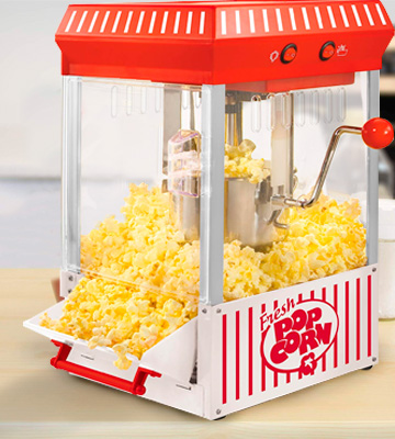 Review of Nostalgia KPM200 Popcorn Maker