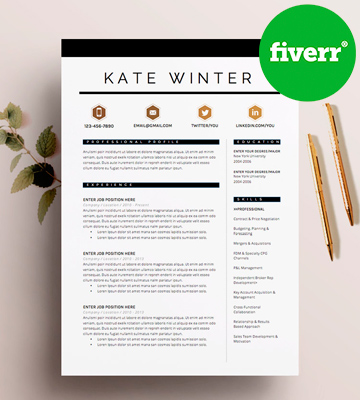 Review of Fiverr Resume builder