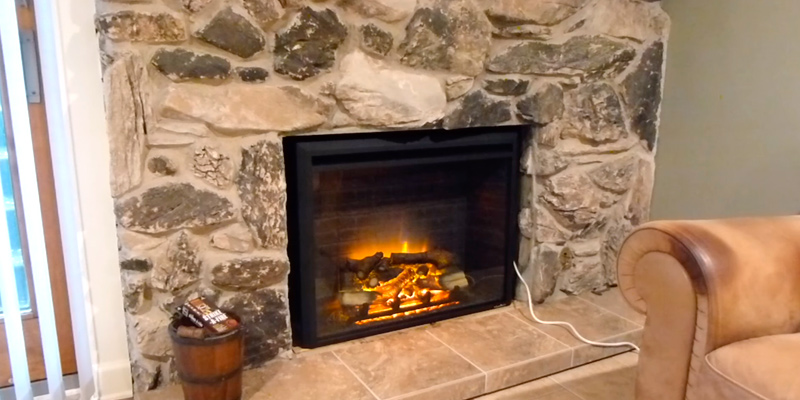 Review of PuraFlame EF45DFGF Electric Fireplace Insert with Remote Control