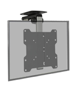 Mount-It! MI-4222 TV Ceiling Mount Kitchen, Bracket Folding