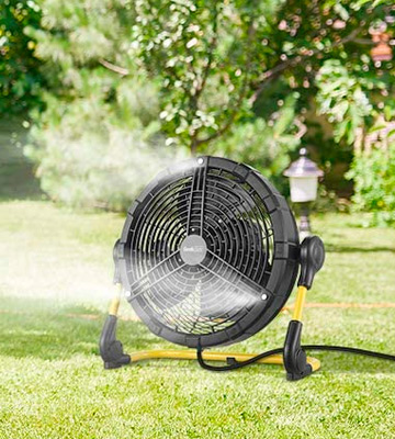 Review of Geek Aire Rechargeable Outdoor Misting Fan