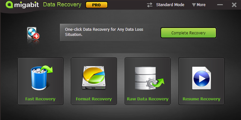 Detailed review of Amigabit Data Recovery