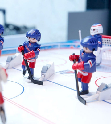 Review of PLAYMOBIL NHL Hockey Arena Playset