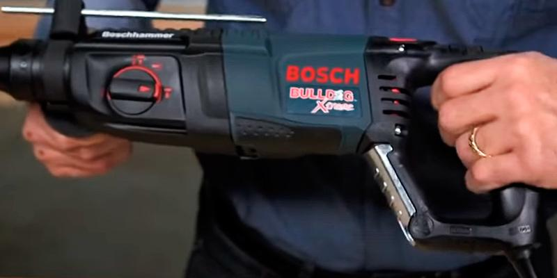 bosch bulldog hammer drill. review of bosch 11255vsr d-handle bulldog xtreme rotary hammer bulldog drill