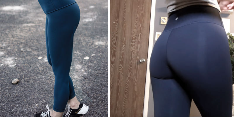 Review of Lululemon _Wunder Under Pant III Full On Luon Yoga Pants