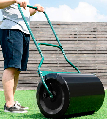 Review of Goplus Heavy Duty Poly Lawn Roller, 16 by 19.5 Inch