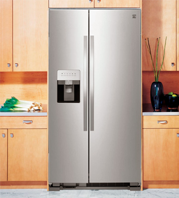 Review of Kenmore 50043 25 cu. ft. Side-by-Side Refrigerator with Water and Ice Dispenser