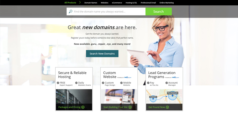 Review of Network Solutions Website Creator