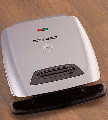 Review of George Foreman GR2121P Grill and Panini Press with Adjustable Temperature