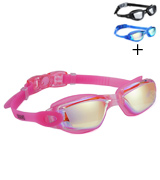 Aegend 2360 Mirrored Lenses Swimming Goggles