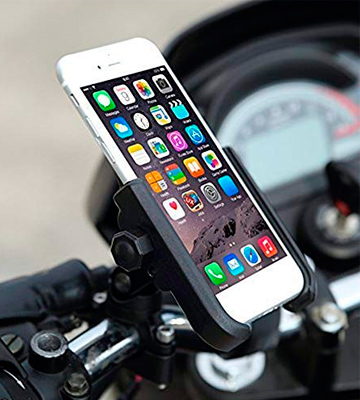 Review of ILM 4333305286 Bike Motorcycle Phone Mount Aluminum Bicycle Cell Phone Holder Accessories