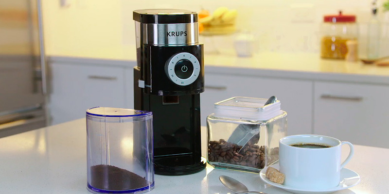 Review of KRUPS GX550850 Precision Burr Coffee Grinder