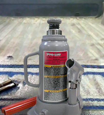 Review of Pro-Lift B-012D Grey Hydraulic Bottle Jack (12 Ton Capacity)