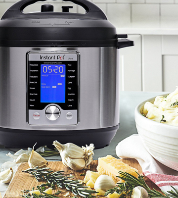 Review of Instant Pot Ultra 60 (10-in-1) 6 Qt Multi- Use Programmable Pressure Cooker