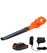 Black & Decker LSW221 20V MAX Lithium Cordless Blower with Air speed up to 130 Miles per hour