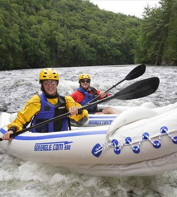 Review of Sea Eagle SE-330 Whitewater with Deluxe Package