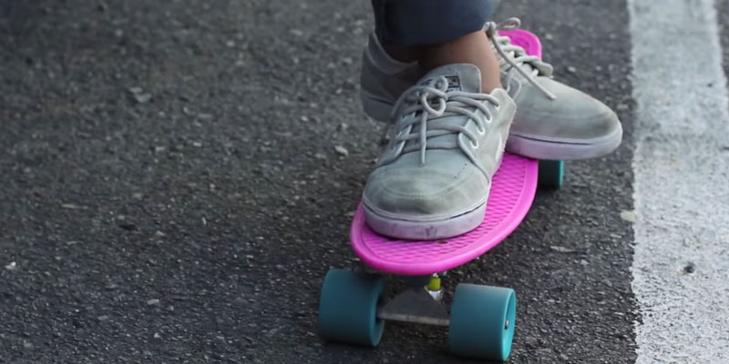 Penny Classic Complete Skateboard in the use