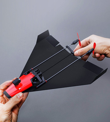 Review of PowerUp FPV Paper Airplane VR Drone Model Kit