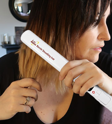 Review of ION Keratin Smoothing Flat Iron