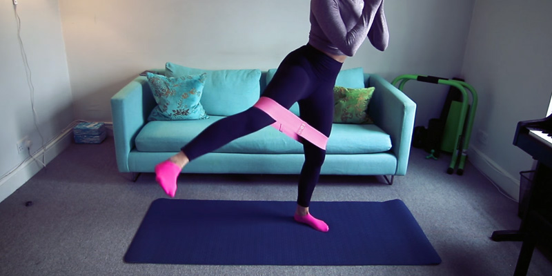 Review of Te-Rich 3-Band Set Resistance Bands for Legs and Butt