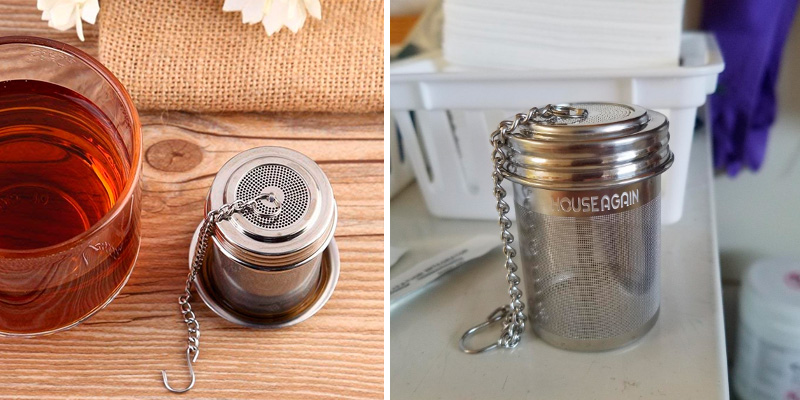 Review of House Again Extra Fine Mesh Tea Ball Infuser & Cooking Infuser